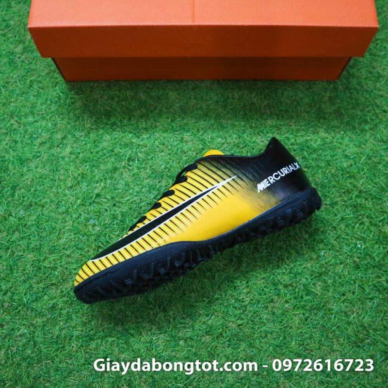 Giay da bong tre em Nike Mercurial 6 TF vàng đen (6)