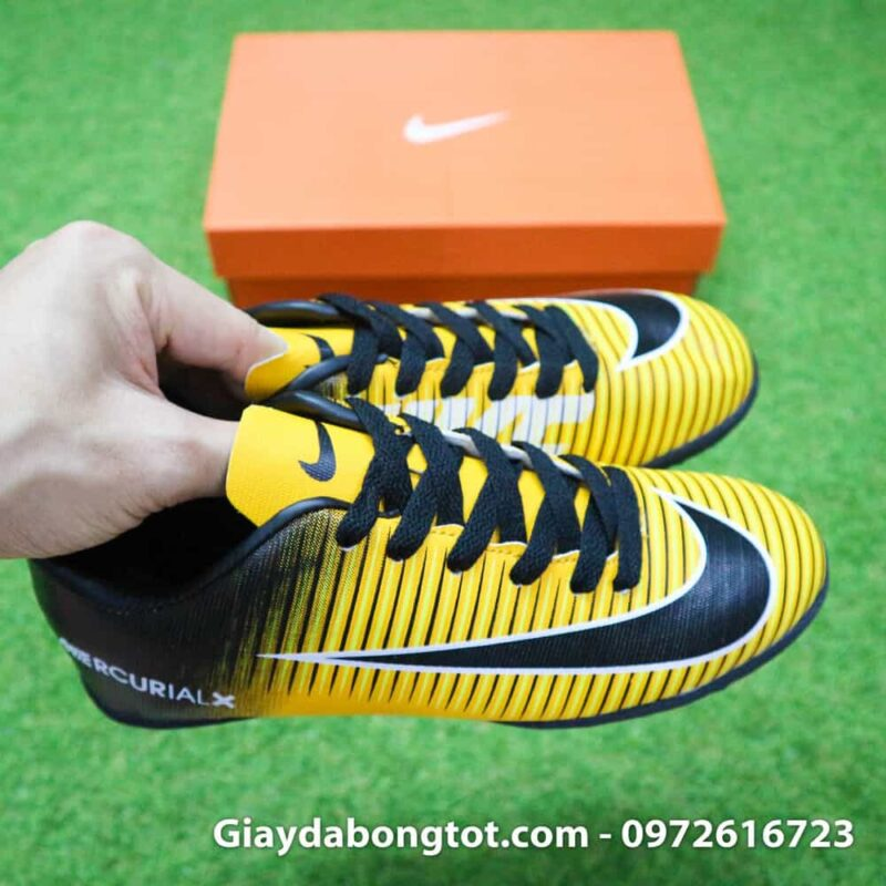 Giay da bong tre em Nike Mercurial 6 TF vàng đen (7)