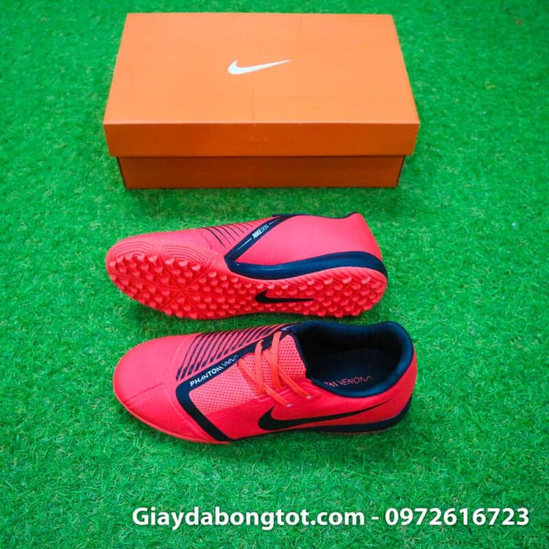 Giay san co nhan tao Nike Phantom VNM Academy TF mau do 2019 (2)