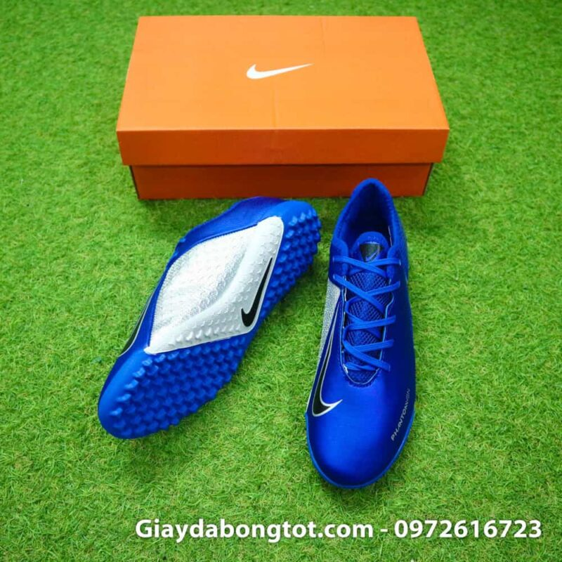 Giay san co nhan tao Nike Phantom VSN Academy TF mau xanh duong (3)