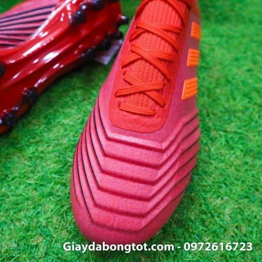 Giay da banh dinh AG Adidas Predator 19.1 mau do 2019 (5)