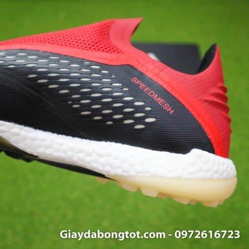 Giay da banh khong day Adidas X18+ TF den do (11)