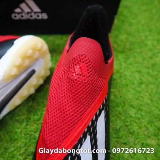 Giay da banh khong day Adidas X18+ TF den do (6)
