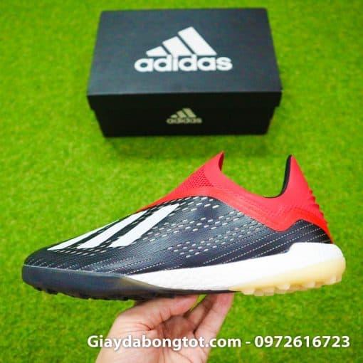 Giày đá banh không dây Adidas X18+ TF có đế giày êm ái, chắc chắn