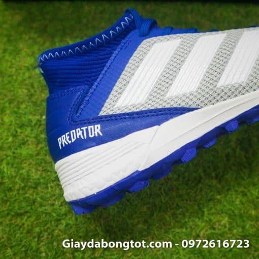 Giay da banh tre em Adidas Predator 19.3 TF xam xanh duong em chan (1)