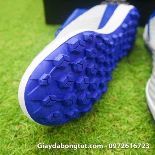 Giay da banh tre em Adidas Predator 19.3 TF xam xanh duong em chan (4)