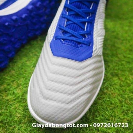 Giay da banh tre em Adidas Predator 19.3 TF xam xanh duong em chan (5)