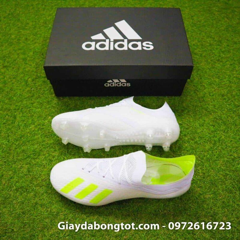 Giay da bong Adidas X18.1 FG trang Doan Van Hau (1)