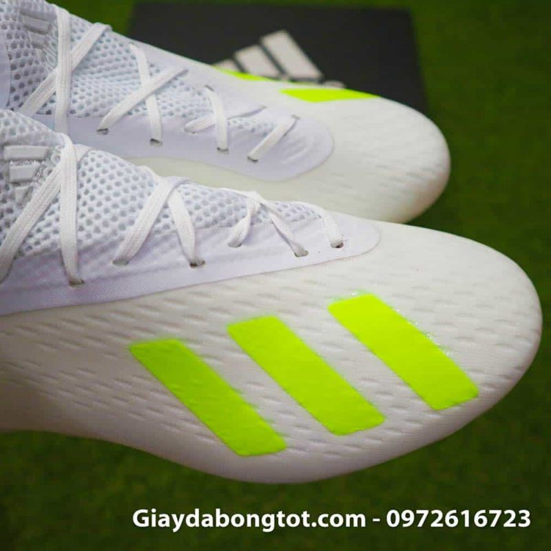Giay da bong Adidas X18.1 FG trang Doan Van Hau (10)