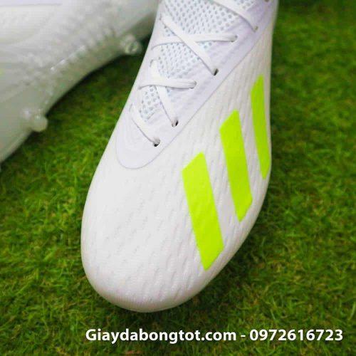 Giay da bong Adidas X18.1 FG trang Doan Van Hau (4)