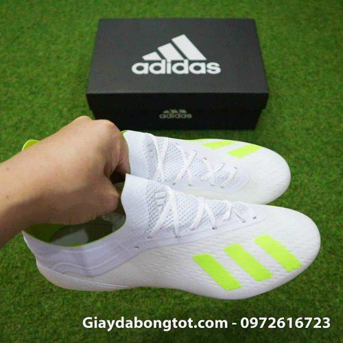 Giày đá banh Adidas X18.1 màu chuối hỗ trợ bám sân tốt trên sân cỏ tự nhiên