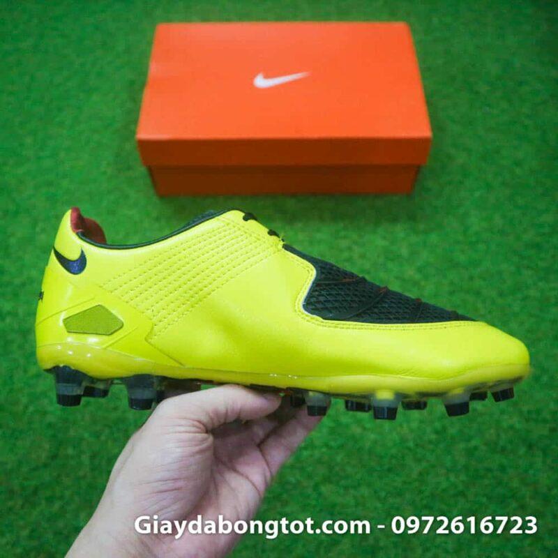 Giay da bong Nike T90 Laser I Remake Vang den Rooney (10)