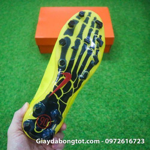 Giay da bong Nike T90 Laser I Remake Vang den Rooney (11)
