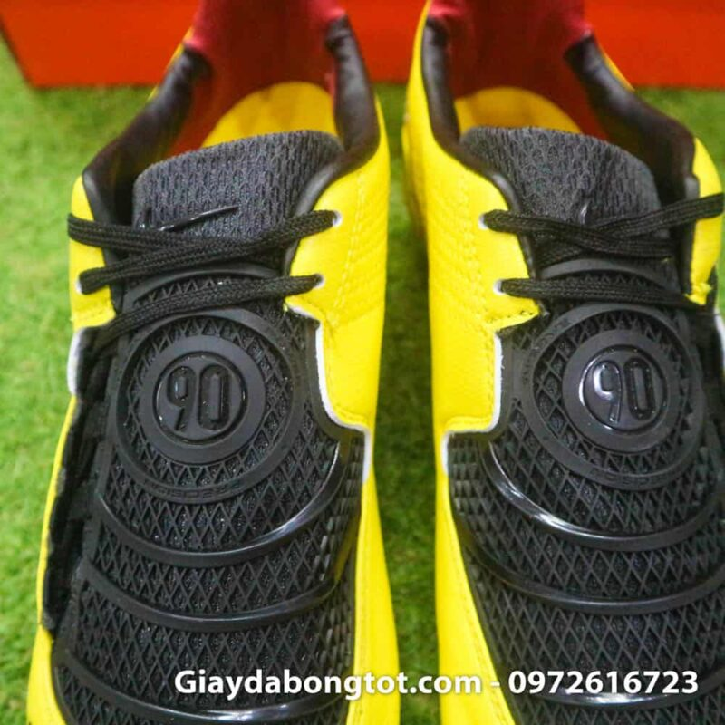 Giay da bong Nike T90 Laser I Remake Vang den Rooney (6)
