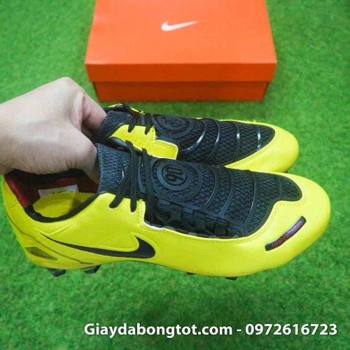 Giay da bong Nike T90 Laser I Remake Vang den Rooney (7)