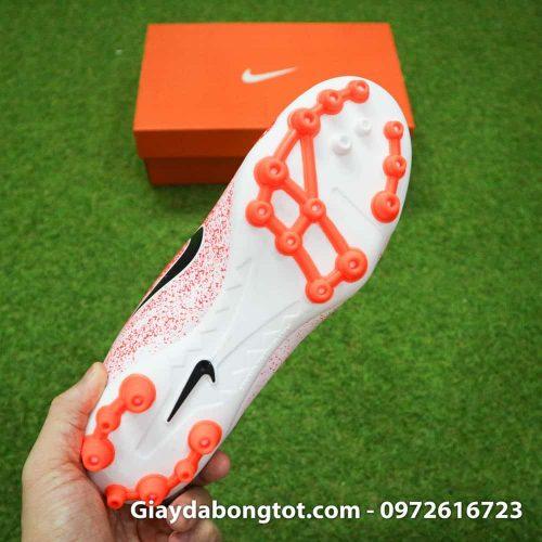 Giay da bong Nike dinh AG Mercurial Vapor XII mau cam trang 2019 (11)