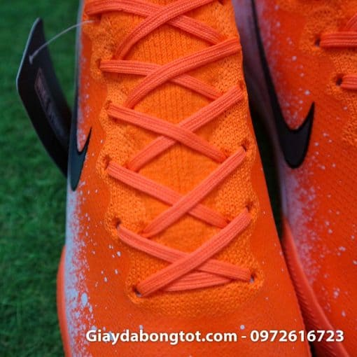 Giay da bong co cao Nike Mercurial Superfly VI mau cam trang Euphoria pack (1)