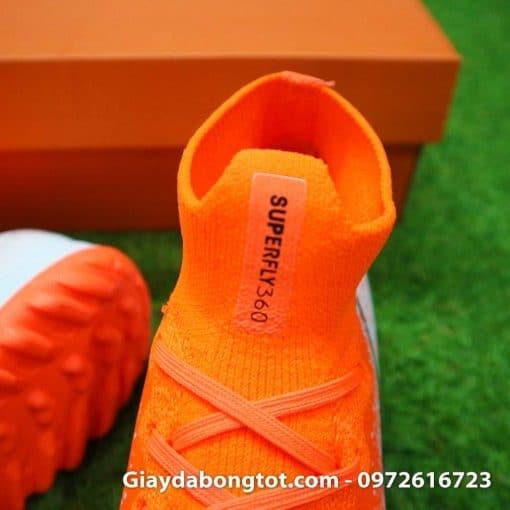 Giay da bong co cao Nike Mercurial Superfly VI mau cam trang Euphoria pack (5)