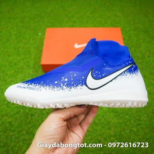 Giày sân cỏ nhân tạo Nike Phantom VSN cổ cao có da mềm và trọng lượng nhẹ