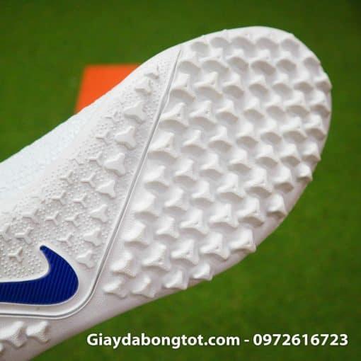 Giay da bong co cao Nike Phantom VSN Pro TF mau xanh duong trang (13)