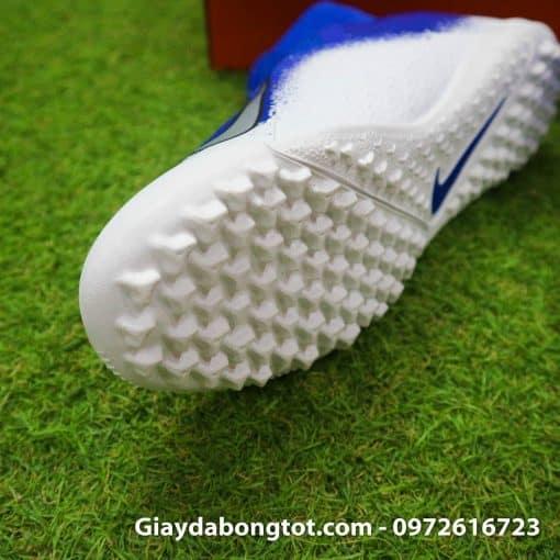 Giay da bong co cao Nike Phantom VSN Pro TF mau xanh duong trang (4)