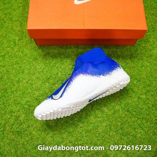 Giay da bong co cao Nike Phantom VSN Pro TF mau xanh duong trang (6)