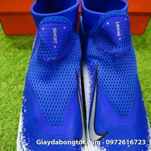 Giay da bong co cao Nike Phantom VSN Pro TF mau xanh duong trang (9)