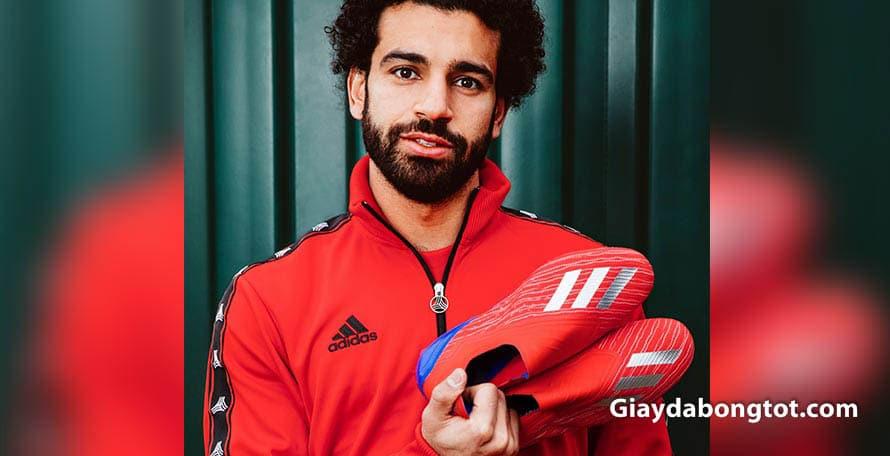 Mohamed Salah luôn sử dụng những gam màu mới nhất của dòng giày đá banh Adidas X