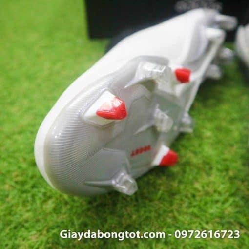 Giay da bong cua Pogba Adidas Predator 19+ FG trang khong day (4)