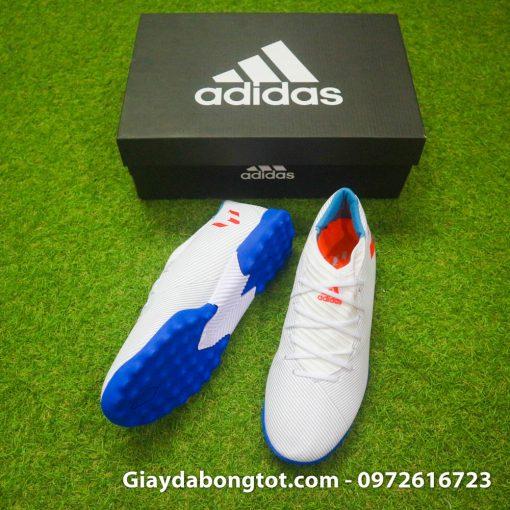 Adidas Nemeziz 19.3 TF có thiết kế đơn giản với da mềm êm chân