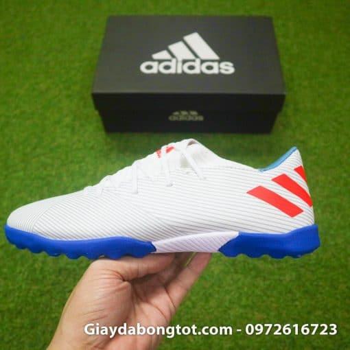 Đôi giày da mềm Adidas Nemeziz 19.3 TF mềm mại thật chân như giày bata