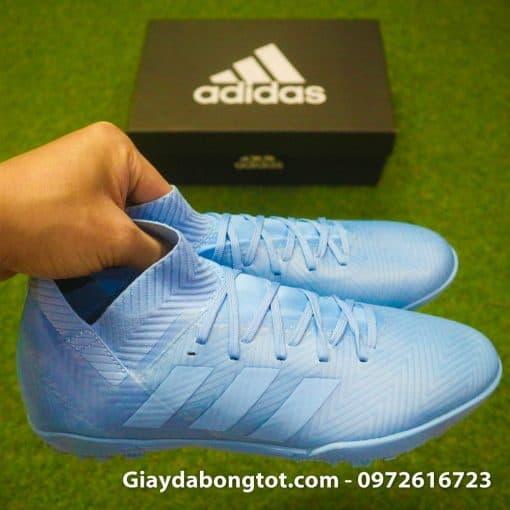 Giay da bong da vai Adidas Nemeziz 18.3 TF co thun om mat ca (7)