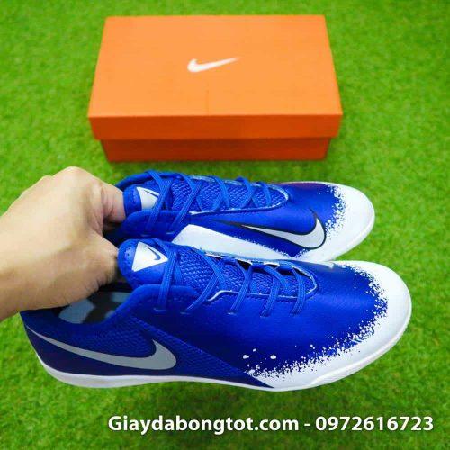 Giay da bong om chan Nike Phantom VSN TF xanh duong trang Euphoria Pack (4)