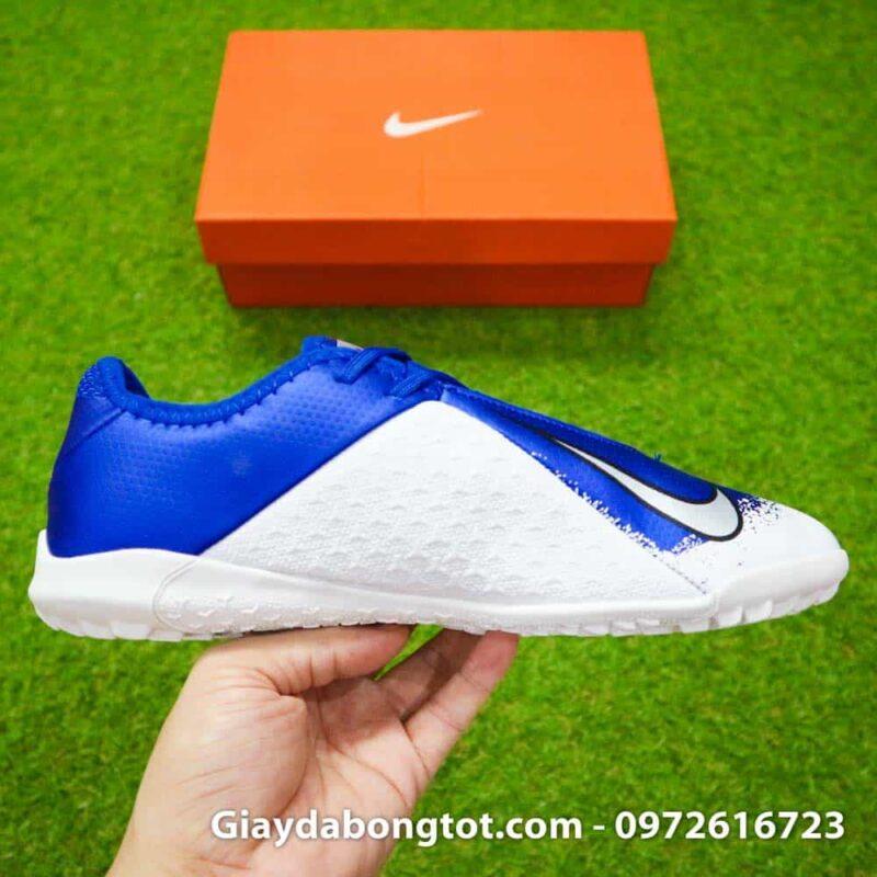 Giay da bong om chan Nike Phantom VSN TF xanh duong trang Euphoria Pack (6)
