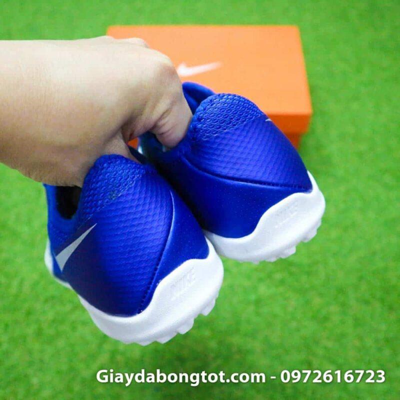 Giay da bong om chan Nike Phantom VSN TF xanh duong trang Euphoria Pack (9)