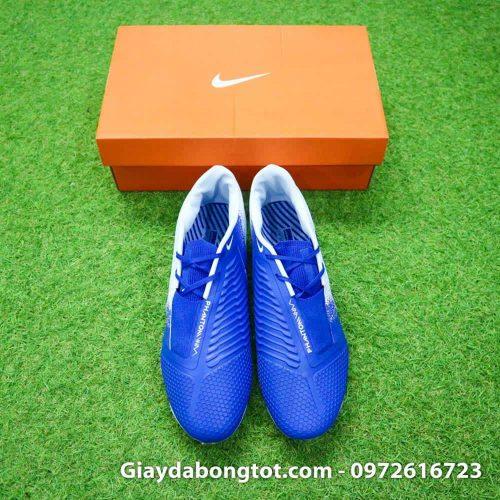 Giay da bong tien dao Nike Phantom VNM FG xanh duong trang Euphoria Pack (1)