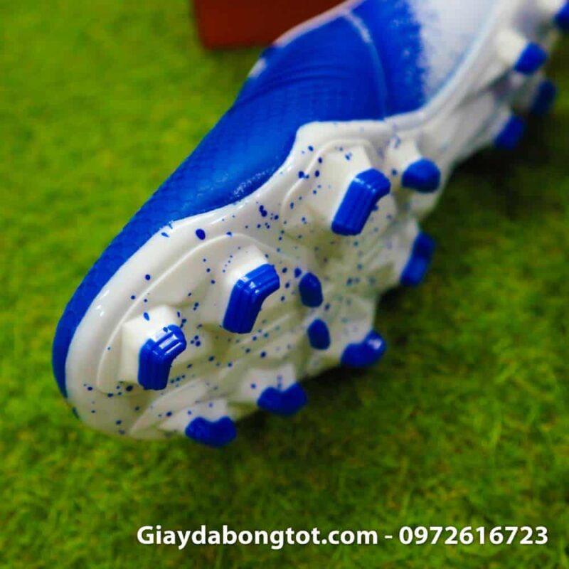 Giay da bong tien dao Nike Phantom VNM FG xanh duong trang Euphoria Pack (5)