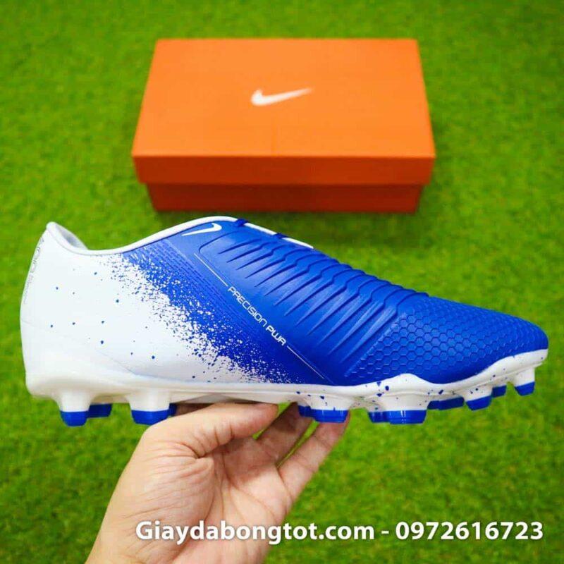 Giay da bong tien dao Nike Phantom VNM FG xanh duong trang Euphoria Pack (7)