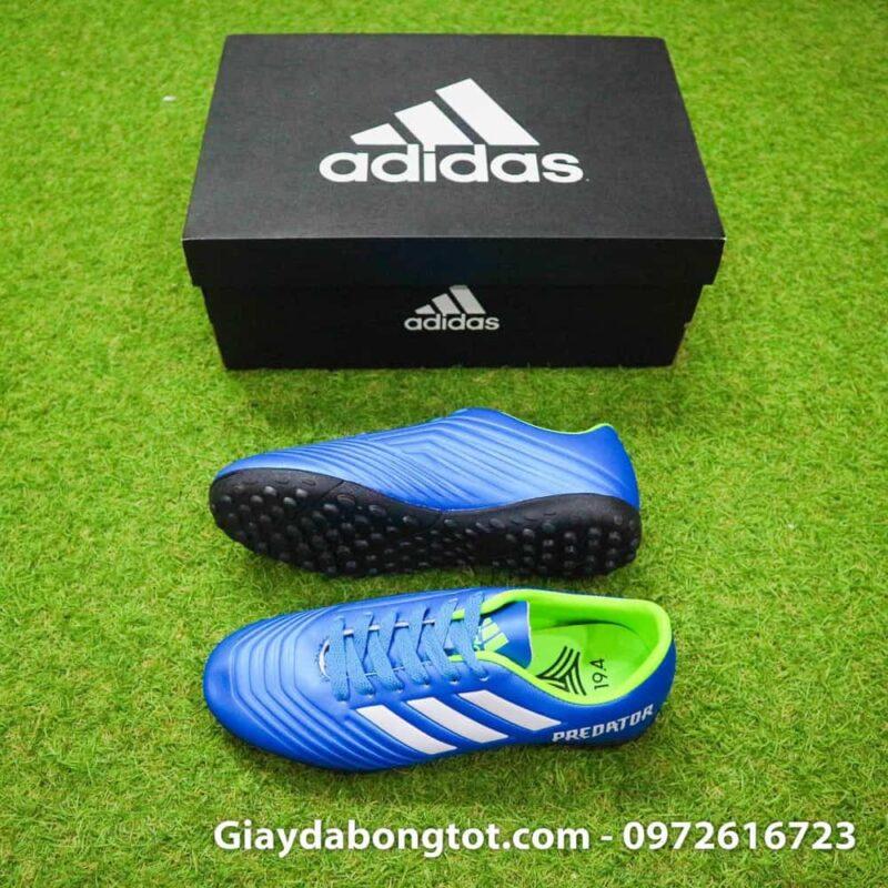 Giày đá bóng trẻ em êm chân Adidas Predator 18.4 TF Xanh Dương hỗ trợ chơi trên sân cỏ nhân tạo