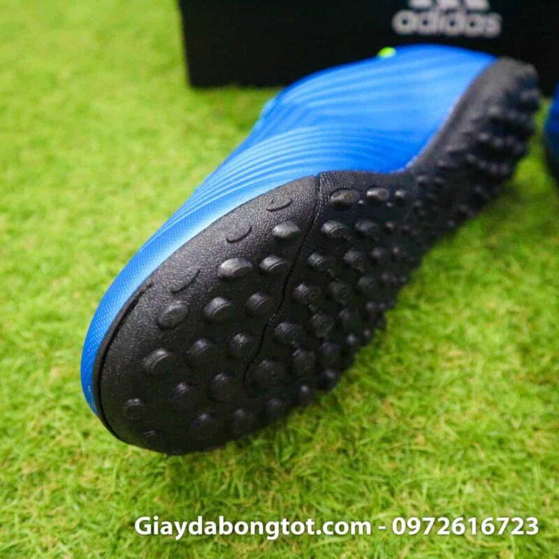 Giay da bong tre em Adidas Predator 18.4 TF xanh duong (3)