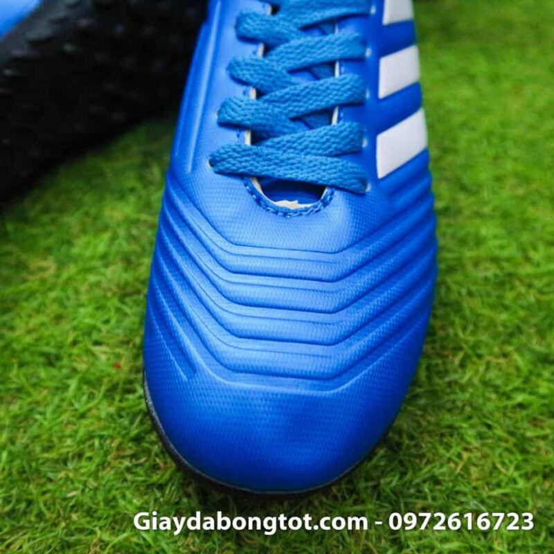 Giay da bong tre em Adidas Predator 18.4 TF xanh duong (4)