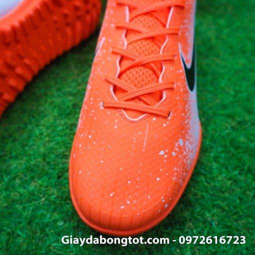 Giay san co nhan tao Nike Mercurial Vapor XII TF mau cam trang Euphoria Pack (6)