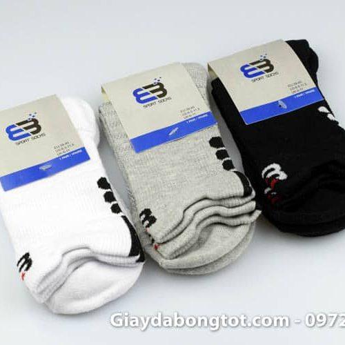 Tất chống trơn vân nổi Curshion có 3 màu hỗ trợ bám giày chống trơn trượt