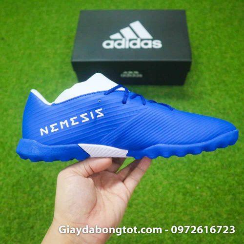 Giay bong da Adidas Nemeziz 19.3 TF xanh duong 2019 (11)