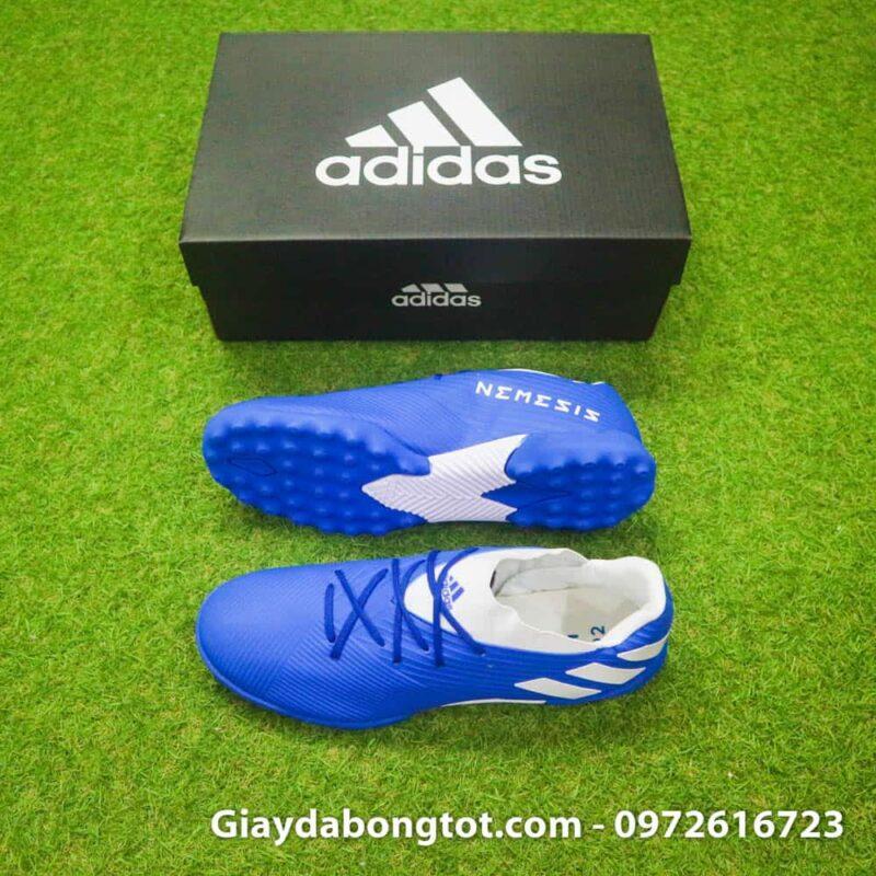Giay bong da Adidas Nemeziz 19.3 TF xanh duong 2019 (2)