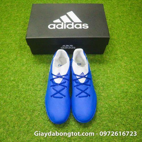 Giay bong da Adidas Nemeziz 19.3 TF xanh duong 2019 (6)