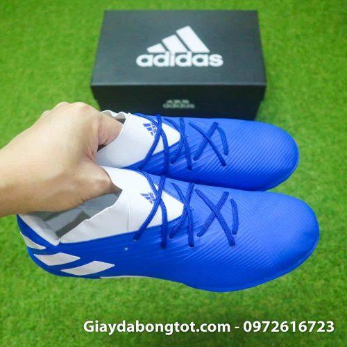 Giay bong da Adidas Nemeziz 19.3 TF xanh duong 2019 (7)