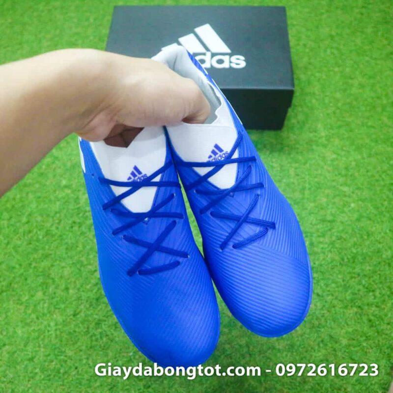 Giay bong da Adidas Nemeziz 19.3 TF xanh duong 2019 (8)