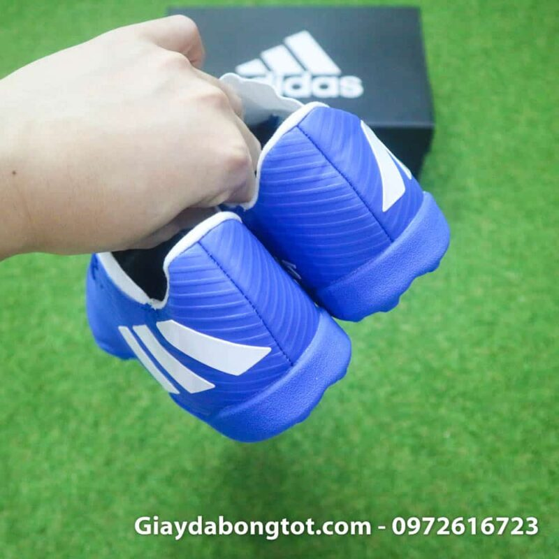 Giay bong da Adidas Nemeziz 19.3 TF xanh duong 2019 (9)