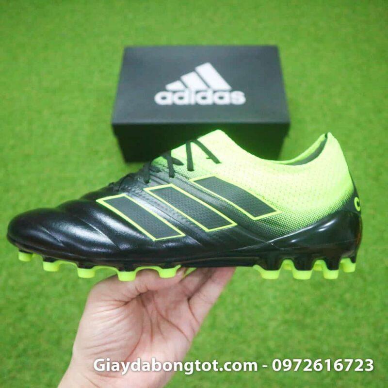Giày đá banh da mềm Adidas Copa 19.1 hỗ trợ chơi bóng tốt trên sân cỏ nhân tạo với đinh AG